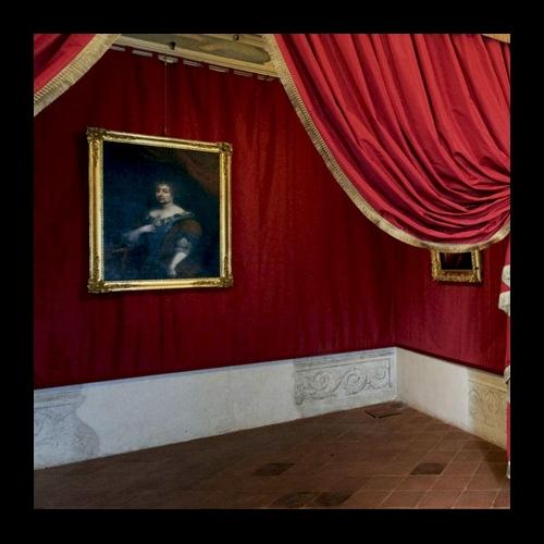 Appartamento di Madama Reale Maria Giovanna Battista - Particolare dell'Alcova