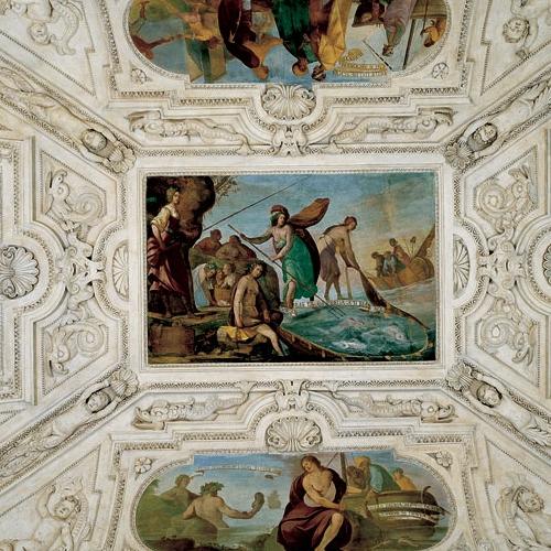 Bernardino Quadri - Volta delle Sale delle Cacce Acquatiche