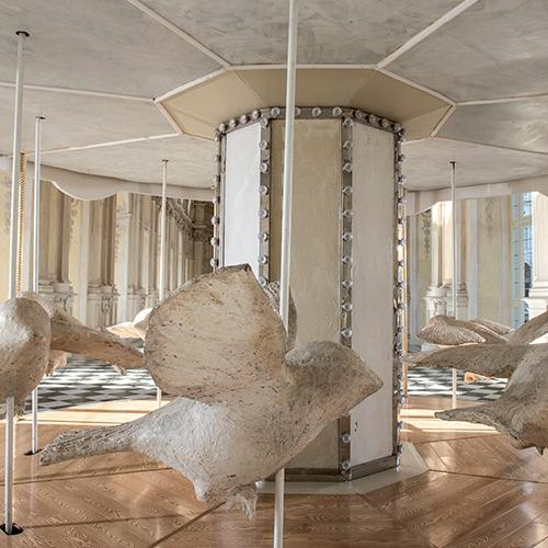 Valerio Berruti. La giostra di Nina en la Galería Grande - Photo by Tino Gerbaldo