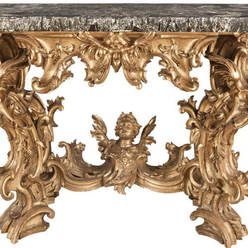 Intagliatore romano, Tavolo console, 1725 ca, Milano, Castello Sforzesco - Museo delle Arti Decorative