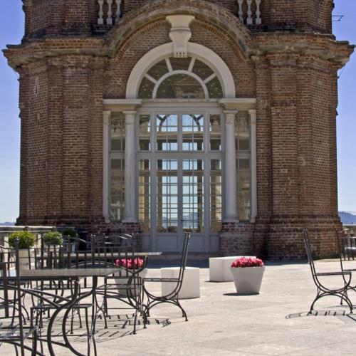 Ristorante Dolce Stil Novo, Terrazza sulla Torre del Belvedere
