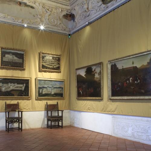 Appartamento di Madama Reale Maria Giovanna Battista - Sala delle Cacce Acquatiche