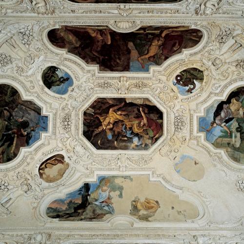 Bernardino Quadri - Volta della Sala delle Cacce infernali