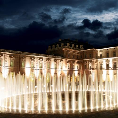 Il Teatro d'Acqua della Fontana del Cervo nella Corte d'onore