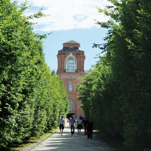 Ingresso alla Reggia. Torre del Belvedere