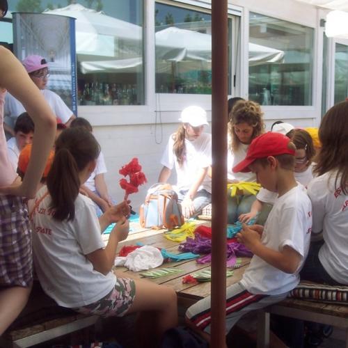 Laboratorio per bambini nei Giardini