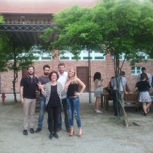 Foto di gruppo di tutor e coordinatori