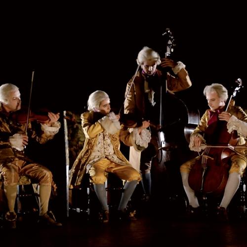 Installazione Ripopolare la Reggia di Peter Greenaway, I musicisti