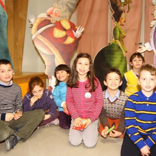 Bambini partecipanti all'Attività Il banchetto del Re