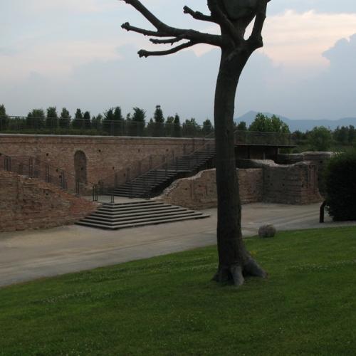 Parco basso, Muro castellamontiano