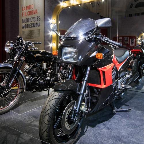 Easy Rider. La mostra. Moto dal film Top gun