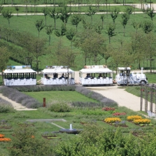 Il trenino dei Giardini nel Potager Royal