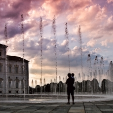 The Water Theather at the Fountain of the Stag - Credits Emanuele Scandura
