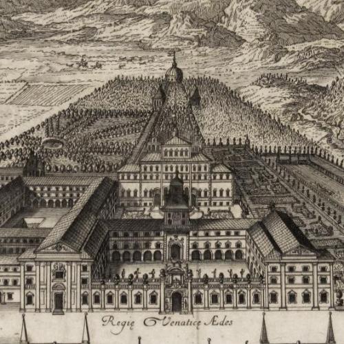 La Reggia di Venaria nell'incisione di Camillo Maria Audiberti (1711)