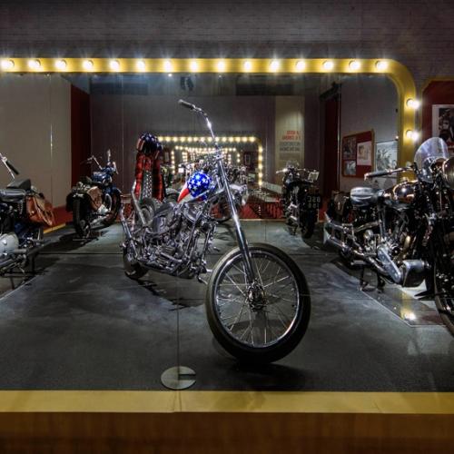 Easy Rider. The exhibition