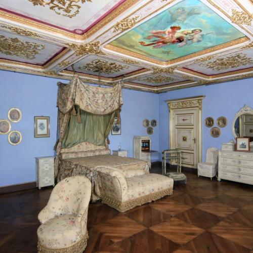 Appartamenti reali del Castello della Mandria, Camera da letto della duchessa
