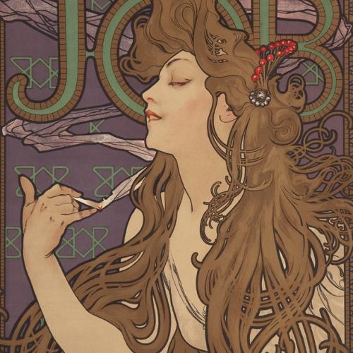 "Alphonse Mucha, ""Job"""