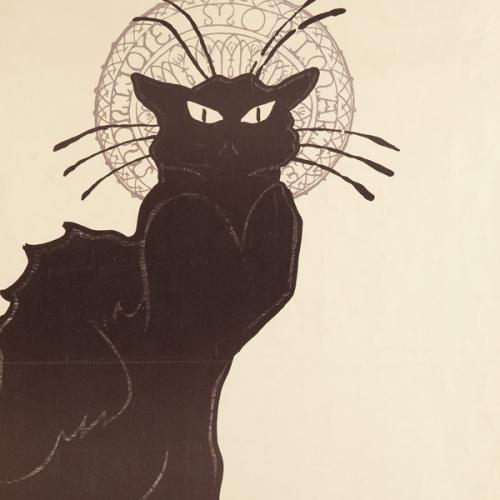 Théophile Alexandre Steinlen, Le Chat noir, 1898