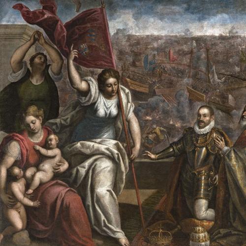 Palma il Giovane (1548/50 - 1628), Celebrazione della vittoria della battaglia di Lepanto del 7 ottobre 1571
