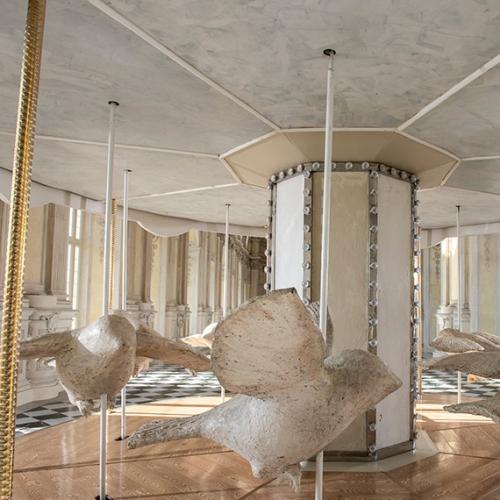 Valerio Berruti. Das Karussell von Nina in der Großen Galerie. Photo by Tino Gerbaldo