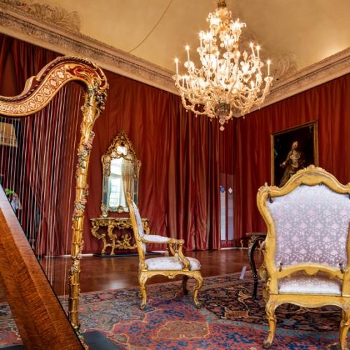 Camera di udienza della regina - Foto di Fausto Lanzetti