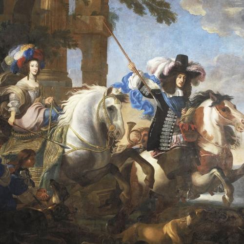 Jan Miel, Enrichetta Adelaide di Savoia e Ferdinando di Baviera