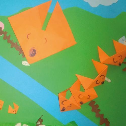 Origami della volpe, Irene