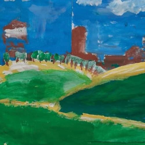 Dipinto della Reggia e dei Giardini, Matteo, 7 anni