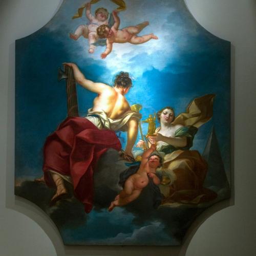 Claudio Francesco Beaumont. Allegoria delle glorie e virtù regie