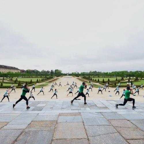 Green fitness nel Gran Parterre