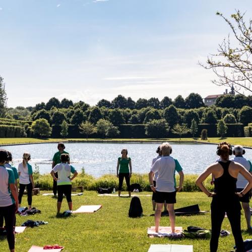 Green fitness presso la Peschiera