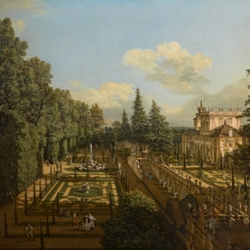B. Bellotto, Wilanow Palace - Foto di Andrzej Ring Lech Sandzewicz