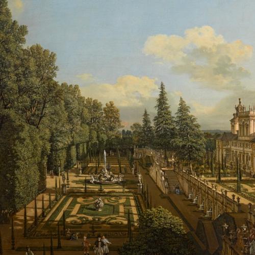 B. Bellotto, Wilanow Palace - Andrzej Ring Lech Sandzewicz
