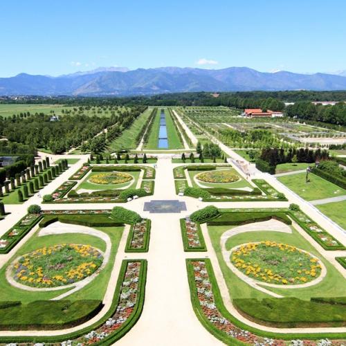 I Giardini della Reggia di Venaria - Veduta all'infinito