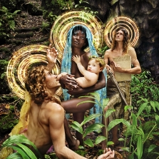 The Holy Family whith St. Francis, 2019 © David LaChapelle