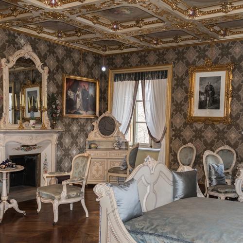 Appartamenti reali. Camera da letto di Rosa Vercellana