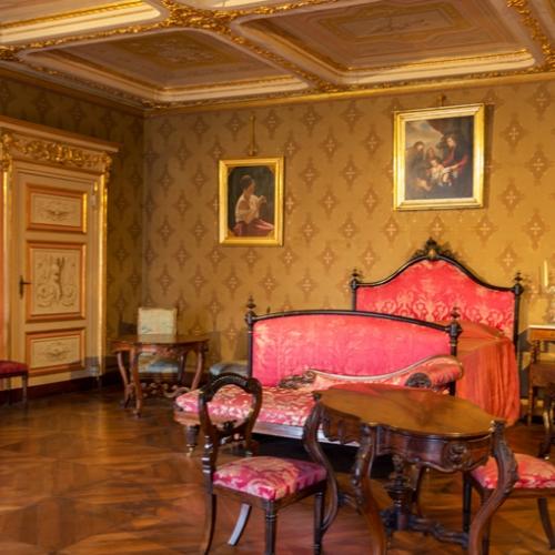 Appartamenti reali. Camera da letto matrimoniale