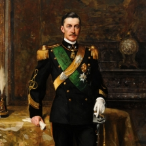 Giacomo Grosso, Emanuele Filiberto, duca d'Aosta, 1898