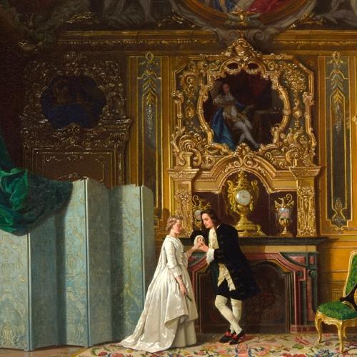 Appartamenti reali. Giacomo Ingegnatti, Una parola in confidenza, 1866