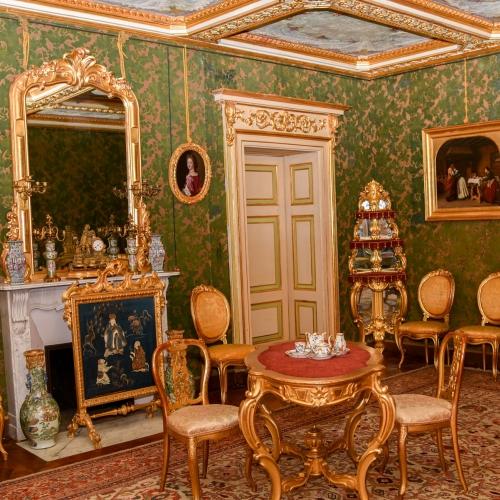 Appartamenti Reali. Salotto verde