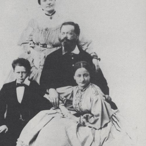 Appartamenti Reali. Vittorio Emanuele II, Rosa Vercellana e figli