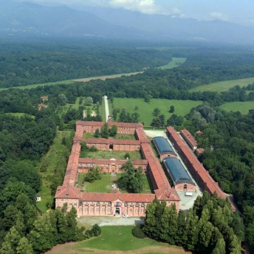 Castello della Mandria - Veduta aerea