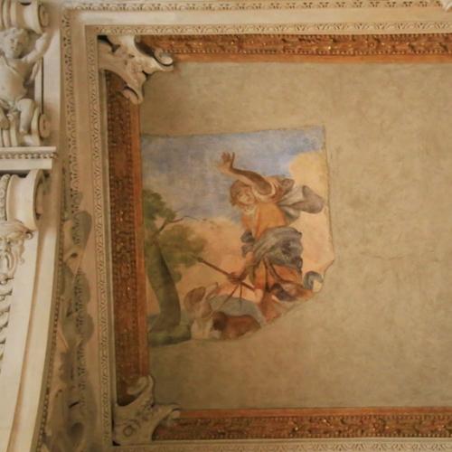 Sala di Diana. Particolare della volta, Orione