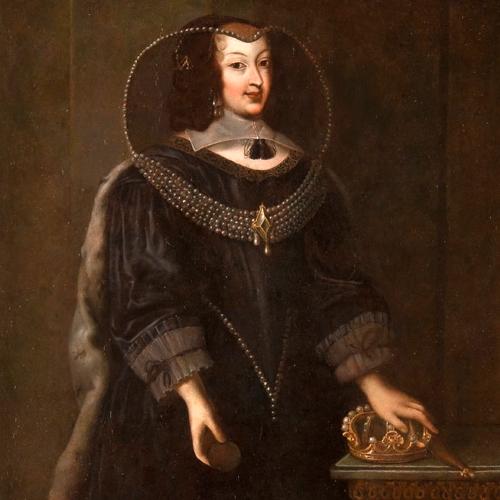 Giovanni Panealbo, attribuito. Ritratto di Cristina di Francia, duchessa di Savoia (ultimo quarto XVIII sec.)