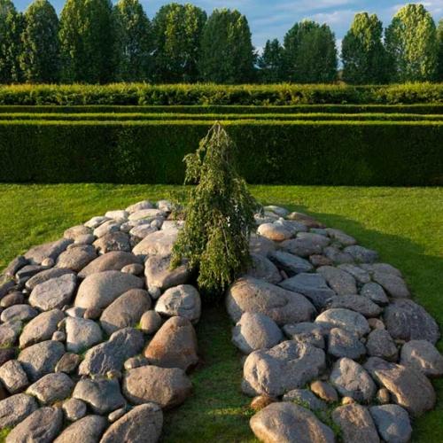 Giardino delle Sculture Fluide - Cervello di pietre. Foto di Dario Fusaro