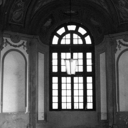 Il Rondò con le decorazioni di primo Novecento sulla volta