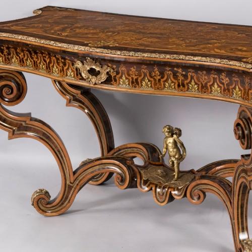 P. Piffetti, Tavolo da muro, 1745-8. Collezione Intesa Sanpaolo
