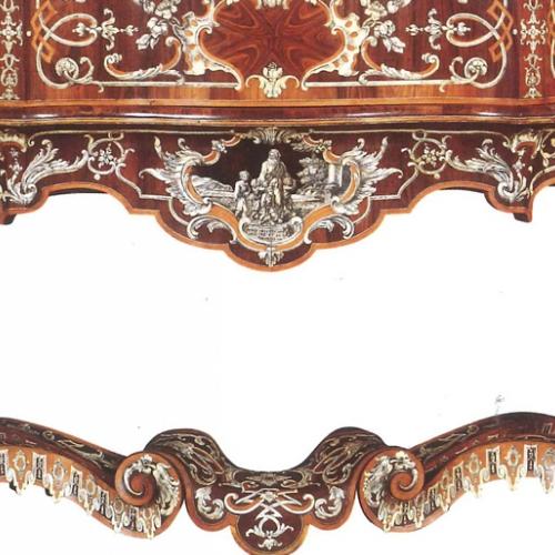 P.Piffetti, Scrivania, 1741, Venezia, Fondazione Musei Civici, Ca' Rezzonico-Museo del Settecento Veneziano