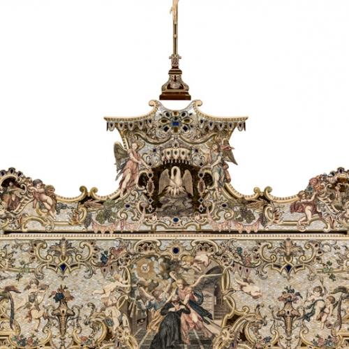 P.Piffetti, Paliotto d'altare, 1749,  Torino, Chiesa di San Filippo Neri