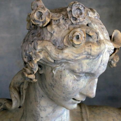 Simone Martinez (Messina 1689-Torino 1768), La Primavera, 1741-1752, particolare.